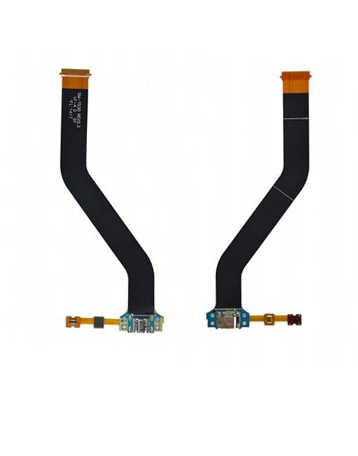 Charging USB Port Dock Mic Flex Plug Cable for Samsung Galaxy Tab 4 10.1 SM-T530NU T530 T531 T535