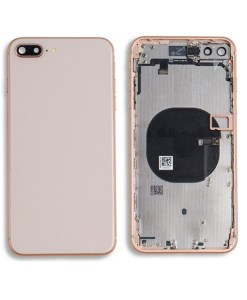 Rear Housing with Buttons for iPhone 8 Plus - Gold