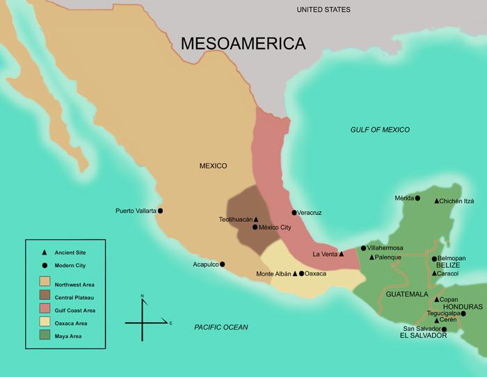 Resultado de imagem para mesoamerica