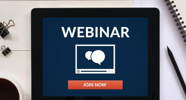 Уебинари - провеждане на дистанционни обучения за проблеми от психологичен характер.