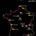 4G , couverture Orange en France pour 2013