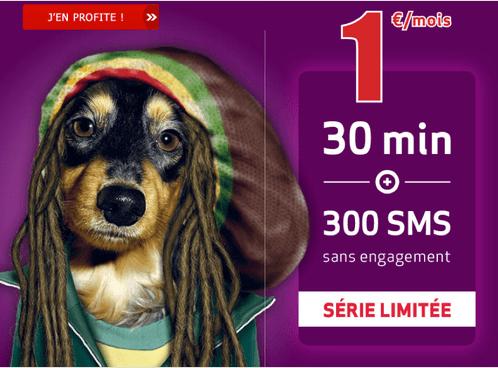 Virgin Mobile Forfait 1 euro