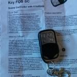 Télécommande Zwave Key FOBSC Zvame.me