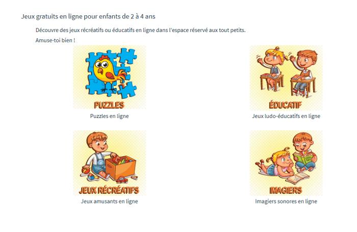jeux éducatifs gratuits pour les enfants de maternelle proposés par Tidou