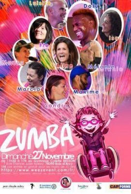 2016- Association un geste en plus - Louna - zumba - affiche