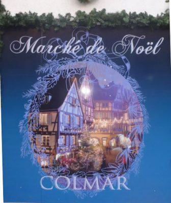 Affiche - Marché de Noël Colmar 2011