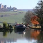Coteaux du Lyonnais et de Bourgogne aux couleurs de l'automne