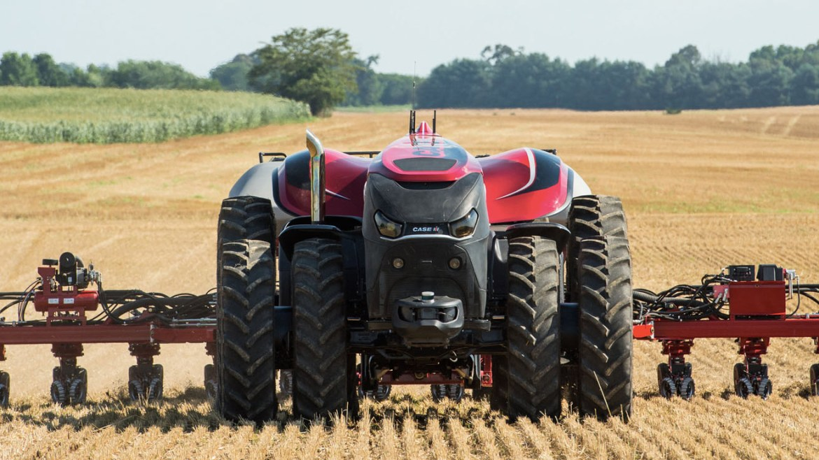 Autonomous tractors are coming to a field near you
