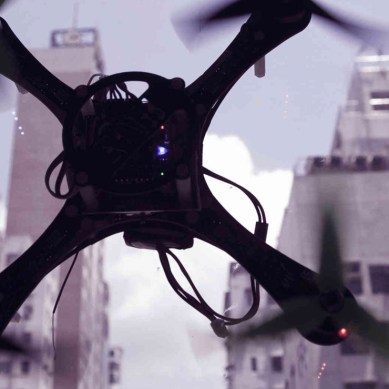 Researchers build a wirelessly powered drone that can fly forever