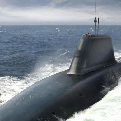 US Navy's future supersonic submarines will command swarms of autonomous drones