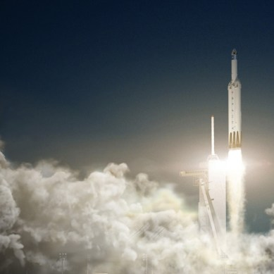 SpaceX's first Falcon Heavy launch will attempt upper stage recovery