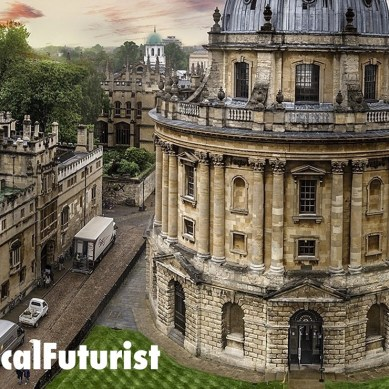 Futurist keynote, Oxford: The Future of Disruption, University of Oxford