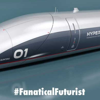 Ground transport at 760mph, HTT unveil their hyperloop passenger capsule