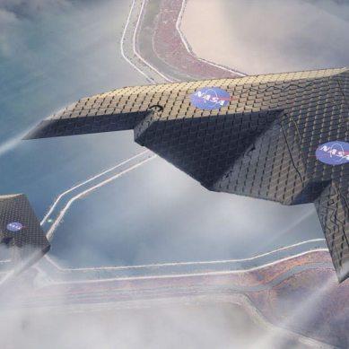 "NASA's revolutionary metamaterial ""morphing"" wing mimics birds wings"