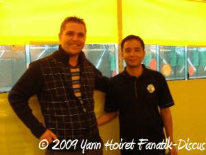 Yann Hoiret et Jeffrey Yang Duisburg 2008