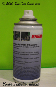 bombe entretien silicone EHEIM