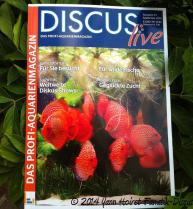 Discus Live magazine cover Septembre 2014