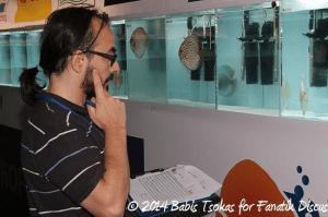 Carmelo Arico juge Greek Discus Show 2014