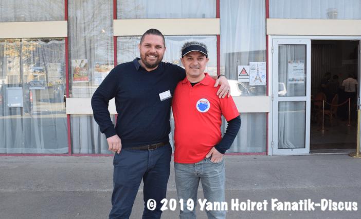 Yann Hoiret et Ceyhun Ozluer Winnie's Discus