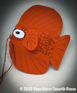 Fabriquer son poisson discus en papier