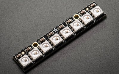 Barra 8 x 5050 LED RGB NeoPixel – con drivers integrati