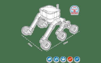 Rocker Tubie, il robot costruito con tubi idraulici in PVC.