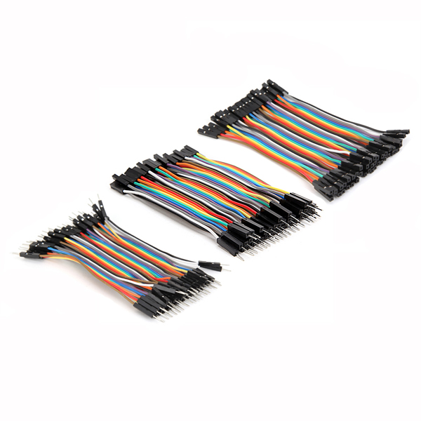 120 Ponticelli Dupont 10 cm MF - FF - MM per Arduino