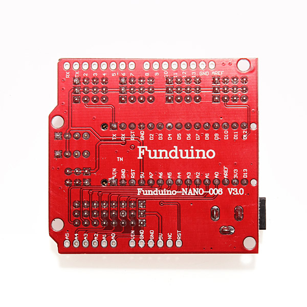 Scheda di Espansione Nano Funduino + ATmega328P Nano V3