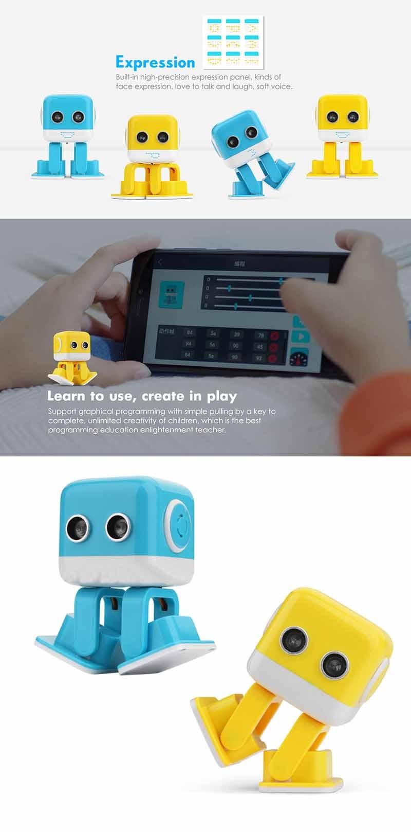 Cube Shaped Mini Robot