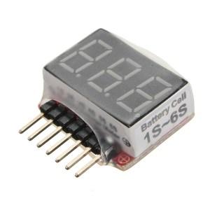 Tester_misuratore_di_tensione_per_batteria_1S-6S