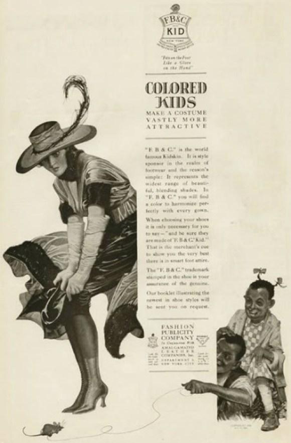 racist fashion publicity company ad