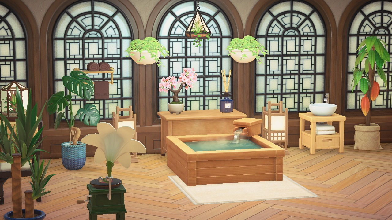 20 Ideas for Your Animal Crossing: New Horizons House on Animal Crossing Room Ideas New Horizons  id=38606