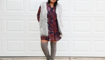 04987a782a5 How to wear a faux fur vest for any body type