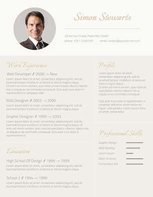 49 Modern Resume Templates That Get You Hired     Fancy Resumes free word resume template