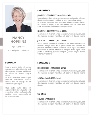 However, there's some manual work involved. Free Resume Templates To Download Now Fancy Resumes