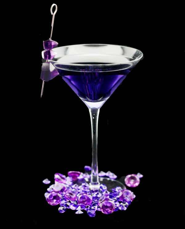 Amethyst Tryst- Lavender Martini