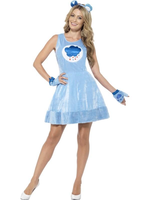 Adult Care Bears Grumpy Bear Costume - 43604 - Fancy Dress ...