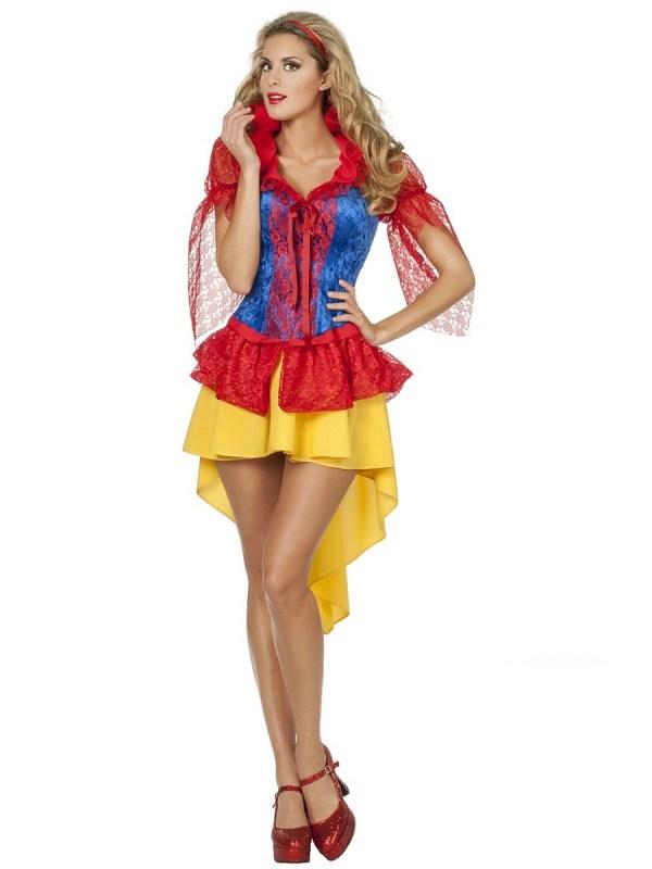 Adult Fairytale Snow Costume - 4277 - Fancy Dress Ball