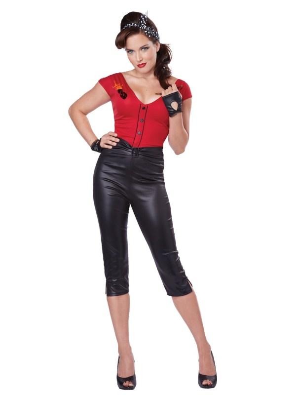 Adult Hot Rod Honey Costume - 01332 - Fancy Dress Ball
