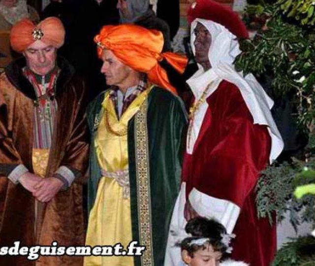 Christmas Costume Of The Three Magi Wise Men