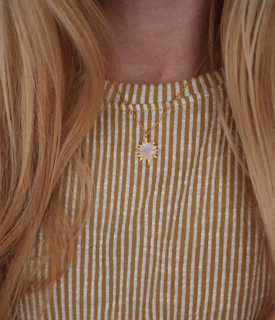 necklace with shirt