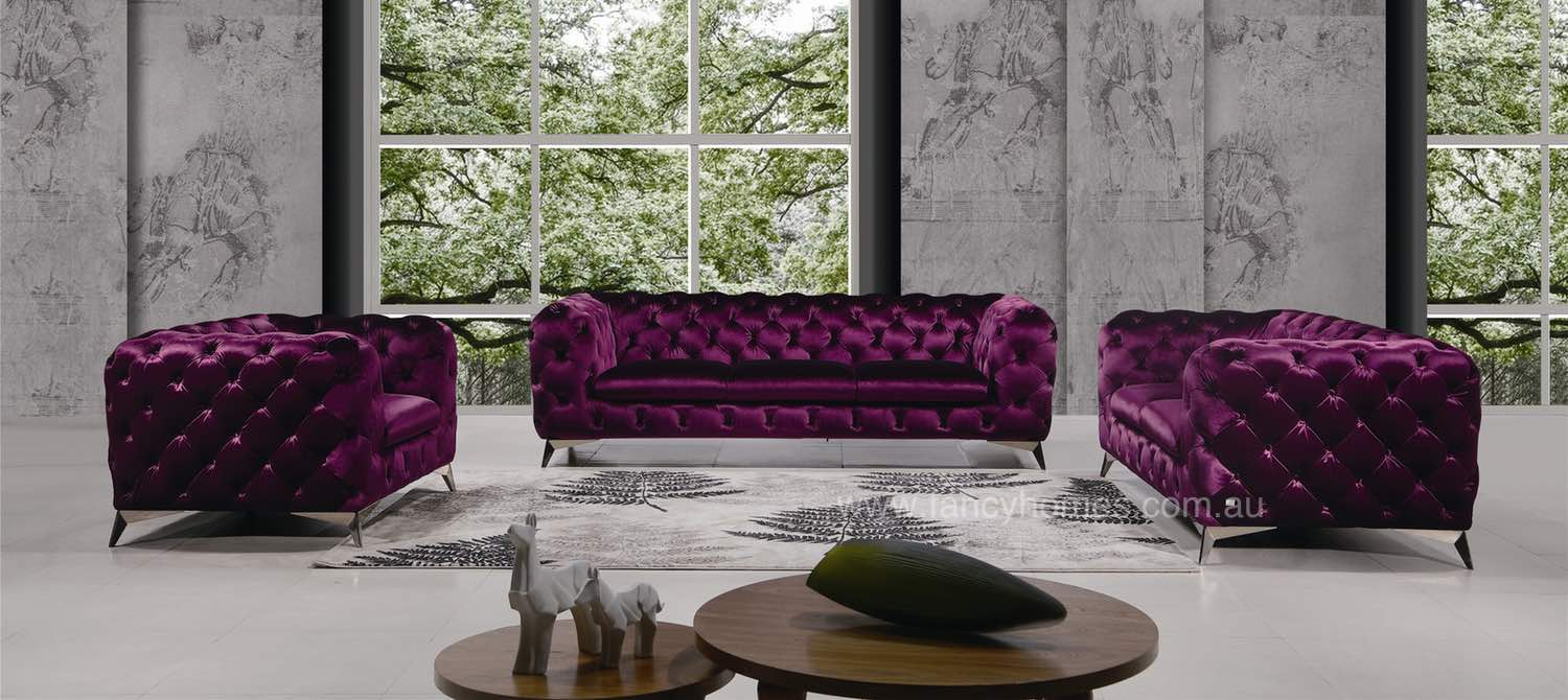 Two Seater Chaise Sofa