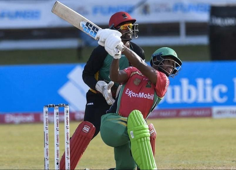 Nicholas Pooran decimates the Patriots with a whirlwind century off just 45 balls