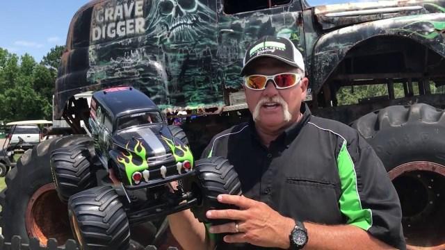 Grave Digger Monster Jam Truck