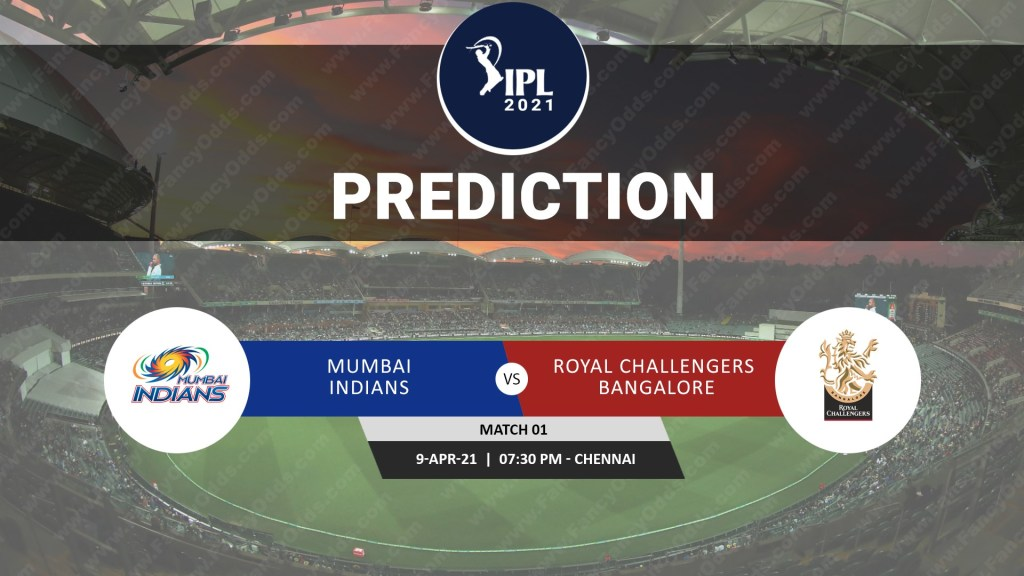 IPL 2021 M01: MI vs RCB Match Prediction | Who will win the Mumbai Indians vs Royal Challengers Bangalore T20 Match Prediction