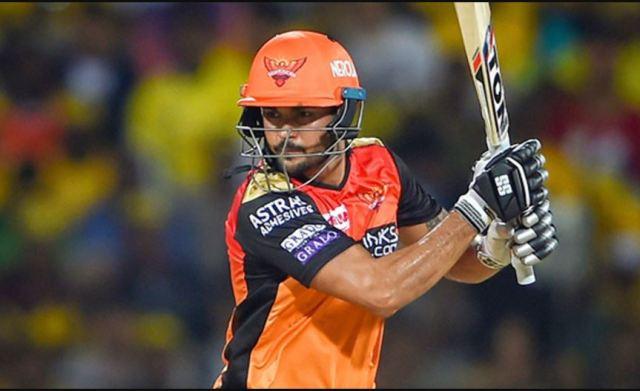Highest Paid IPL Batsman Manish Pandey
