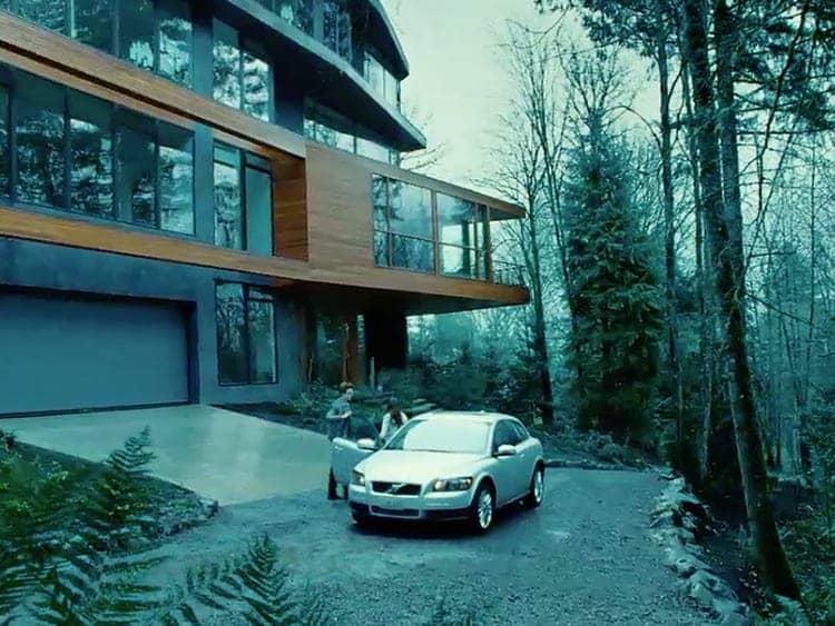 edward cullen s sleek glass house