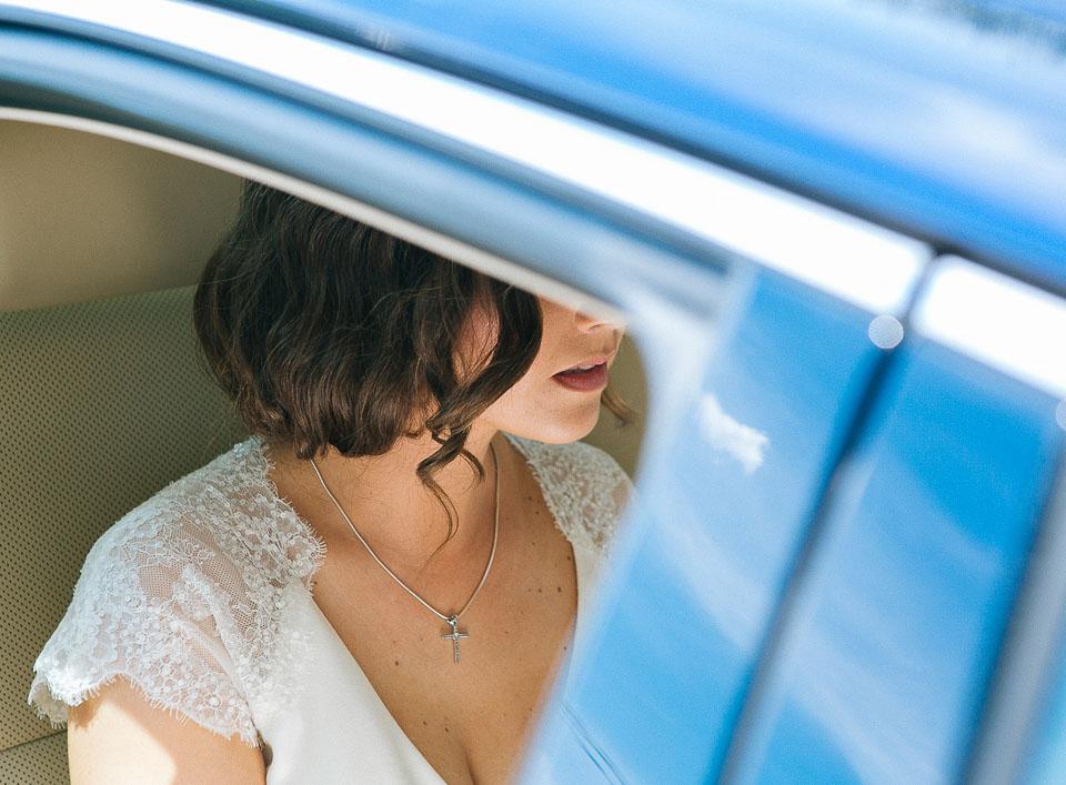 13 novia llegando a su boda