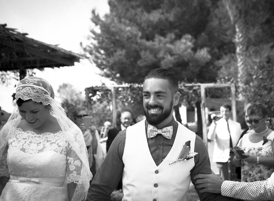 21 entrada novios alegria boda