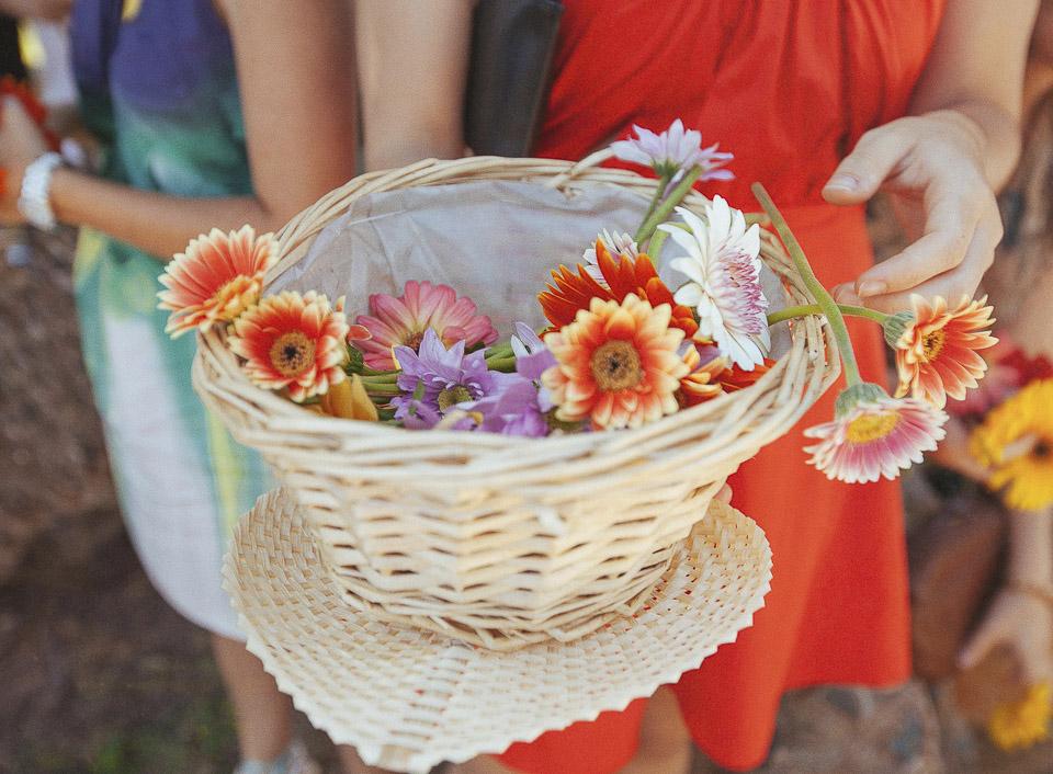 73 cesta con flores